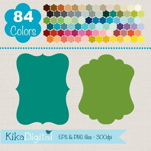 Rainbow Labels Huge Pack 2  Kika Digital    Mygrafico
