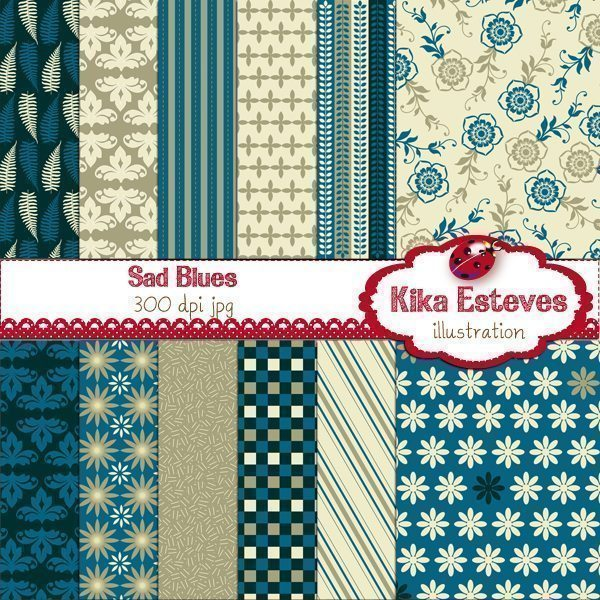 Sad Blues  Kika Digital    Mygrafico
