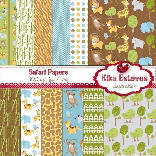 Safari Papers  Kika Digital    Mygrafico