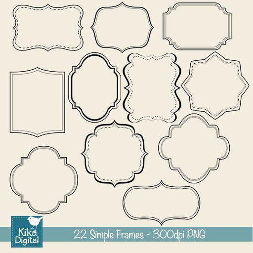 Simple Frames  Kika Digital    Mygrafico