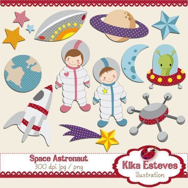 Space Astronaut  Kika Digital    Mygrafico