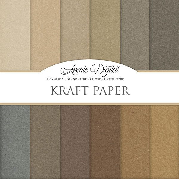 Kraft Digital Paper  Avenie Digital    Mygrafico