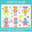 Robot and Friends Pink Digital Clipart  Lemon Elf Studio    Mygrafico