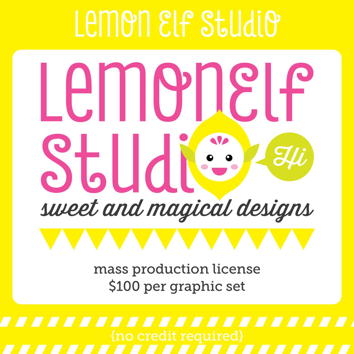 Lemon Elf Studio Mass Production Commercial License  Lemon Elf Studio    Mygrafico