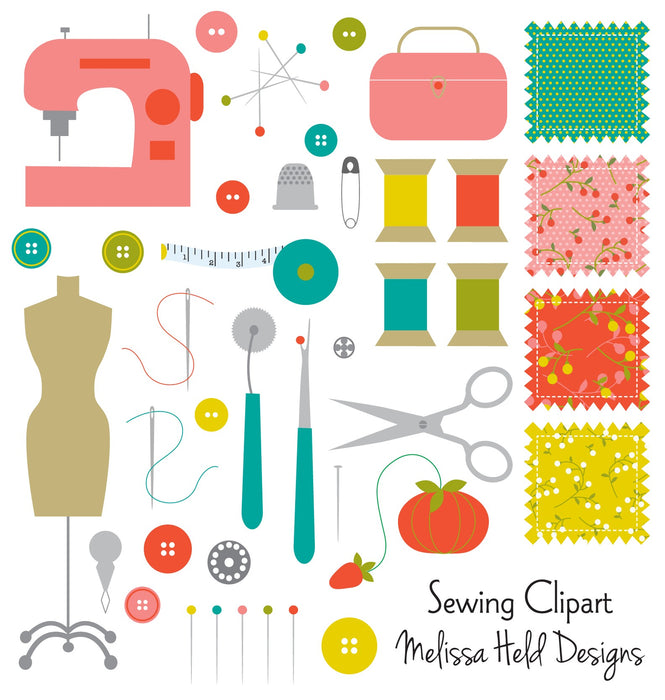 Sewing Clipart Cliparts Melissa Held Designs    Mygrafico