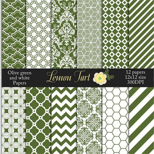 green and white backgrounds damask and more  Lemon Tart    Mygrafico