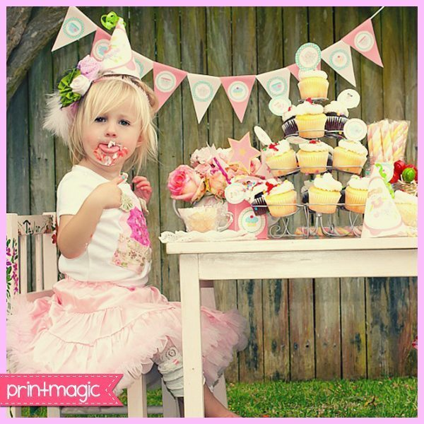 Fairy Tea Party Kit  Print Magic    Mygrafico