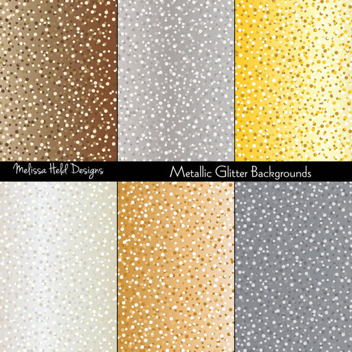 Metallic Glitter Background Patterns Digital Paper & Backgrounds Melissa Held Designs    Mygrafico