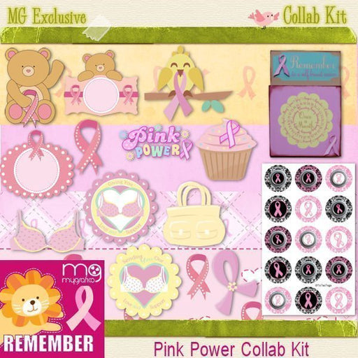 PINK POWER COLLAB KIT Bundles Mygrafico Collaborations    Mygrafico