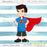 Little Superhero- Child Character Graphic  Miss Pickles Design Studio    Mygrafico
