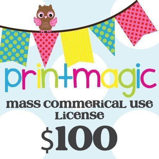 Mass Commercial License  Print Magic    Mygrafico