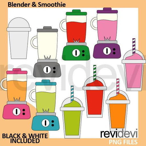 Blender and Smoothie Drinks Clipart Cliparts Revidevi    Mygrafico