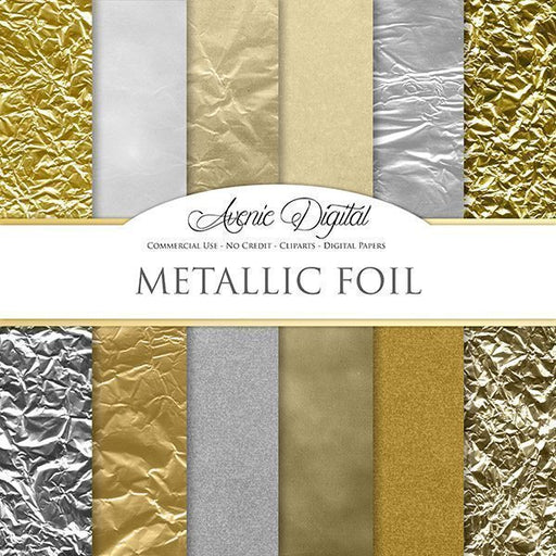 Metallic Foil Digital Paper  Avenie Digital    Mygrafico