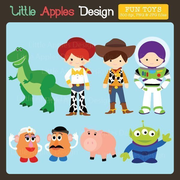 Toys Clipart  Little Apples Design    Mygrafico