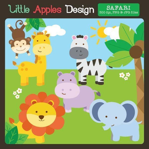 Safari Clipart  Little Apples Design    Mygrafico