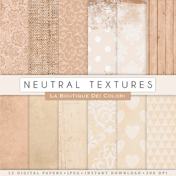 Neutral Grungy Textures  La Boutique Dei Colori    Mygrafico