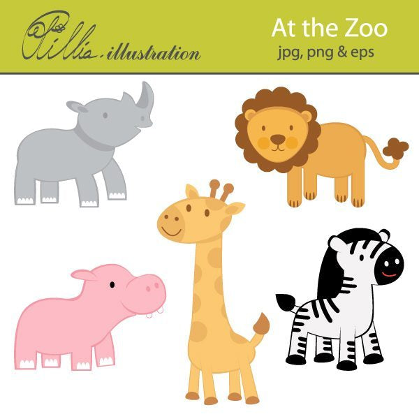 At the Zoo  Olillia Illustration    Mygrafico