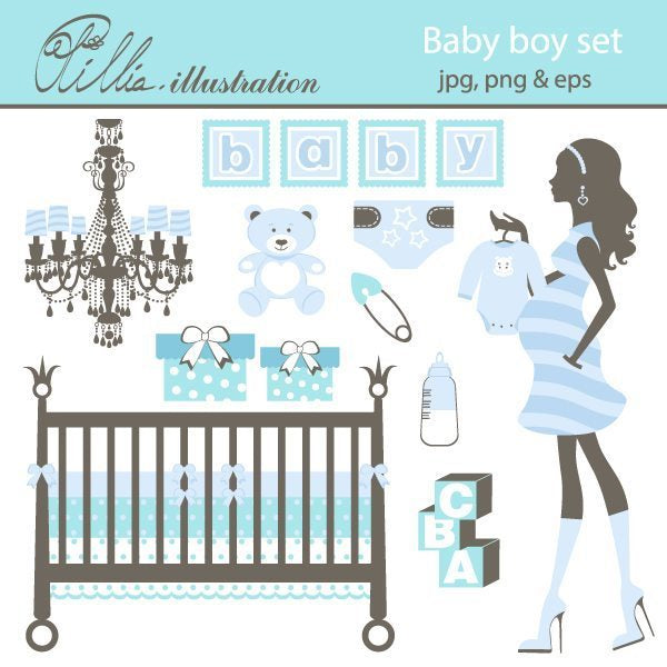 Baby_boy_set  Olillia Illustration    Mygrafico