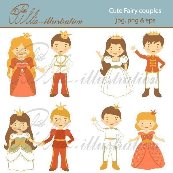 Cute_fairy_couples  Olillia Illustration    Mygrafico