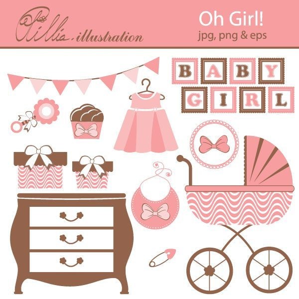 Oh Girl!  Olillia Illustration    Mygrafico