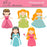 Princesses_set  Olillia Illustration    Mygrafico