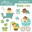 Baby boys clipart  Olillia Illustration    Mygrafico