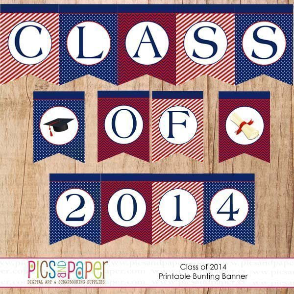 Class of 2014 Banner Printable Templates Pics and Paper    Mygrafico