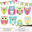 Sweet Owls Clipart Set  Pics and Paper    Mygrafico