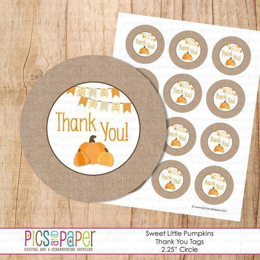 Pumpkins Thank You Tags Printable Templates Pics and Paper    Mygrafico