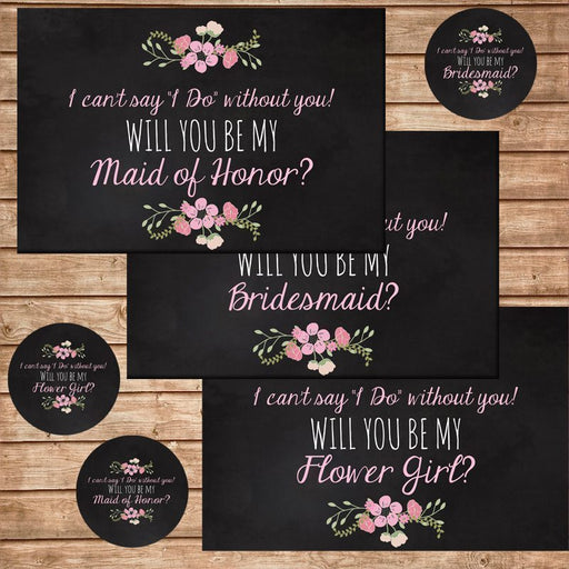 Bridal Party Invitation Cards Printable Templates Pics and Paper    Mygrafico