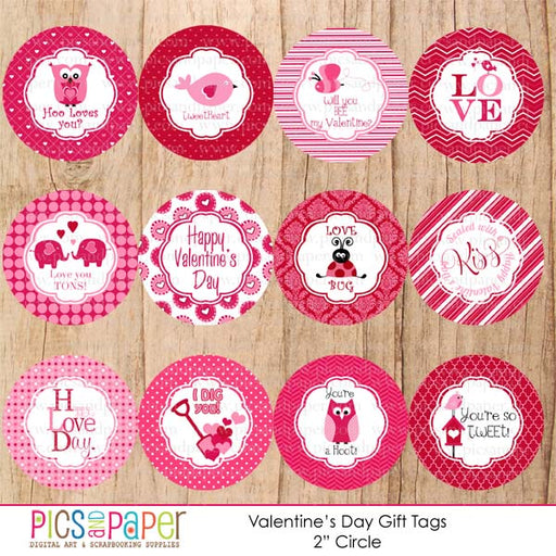 Valentine's Day Printable Tags Printable Templates Pics and Paper    Mygrafico