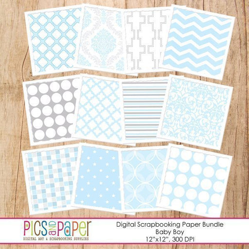 Baby Boy Paper Digital Papers & Backgrounds Pics and Paper    Mygrafico