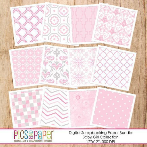 Baby Girl Papers Digital Papers & Backgrounds Pics and Paper    Mygrafico