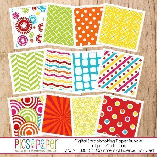 Lollipop Digital Papers Digital Papers & Background Pics and Paper    Mygrafico