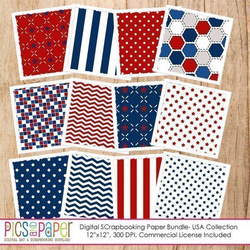 USA  Paper Digital Papers & Backgrounds Pics and Paper    Mygrafico