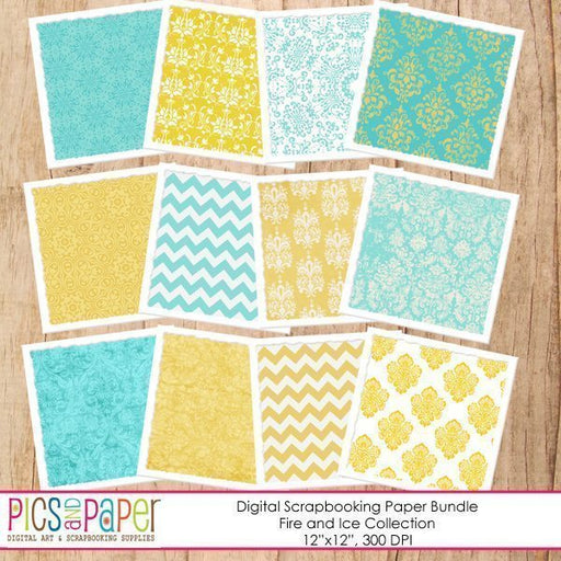 Yellow and Aqua Papers Digital Papers & Backgrounds Pics and Paper    Mygrafico