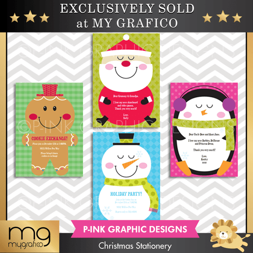 Christmas Invitation Templates Printable Templates Pink Graphic Design    Mygrafico