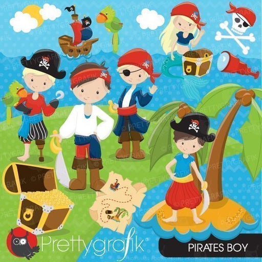 Pirate Boy Clipart  Prettygrafik    Mygrafico