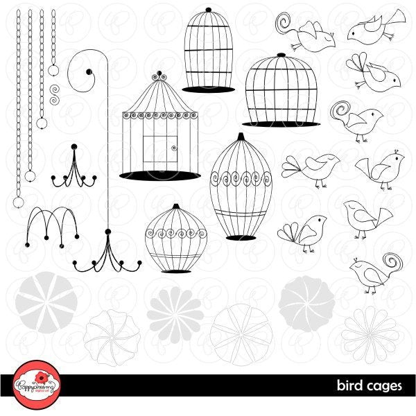 Bird Cages by Poppydreamz  Poppydreamz    Mygrafico