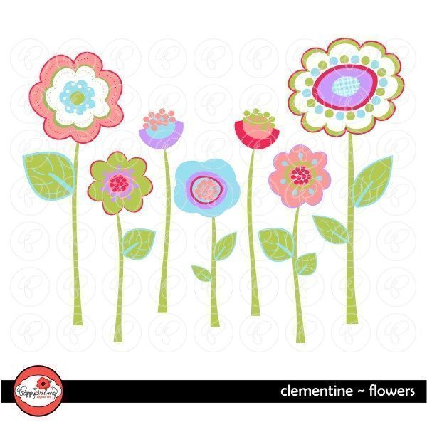 Clementine Flowers by Poppydreamz  Poppydreamz    Mygrafico