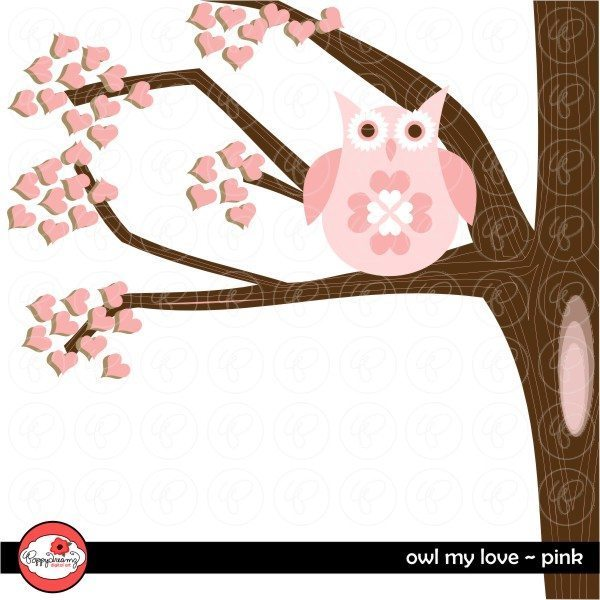 Owl My Love Pink by Poppydreamz  Poppydreamz    Mygrafico