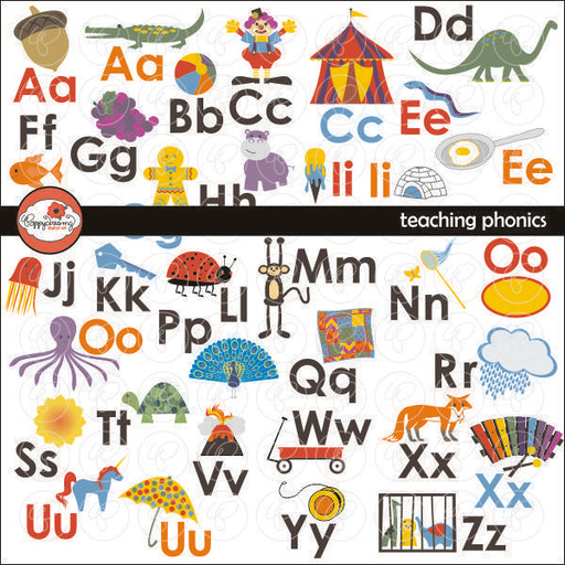 Teaching Phonics by Poppydreamz  Poppydreamz    Mygrafico