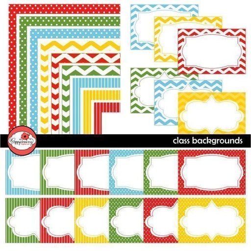 Class Frames and Labels by Poppydreamz  Poppydreamz    Mygrafico