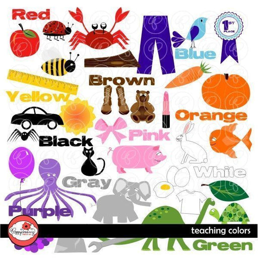 Teaching Colors by Poppydreamz  Poppydreamz    Mygrafico