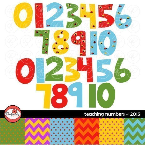 Teaching Numbers 2015 by Poppydreamz  Poppydreamz    Mygrafico