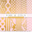 Pink & Gold Digital Papers  La Boutique Dei Colori    Mygrafico