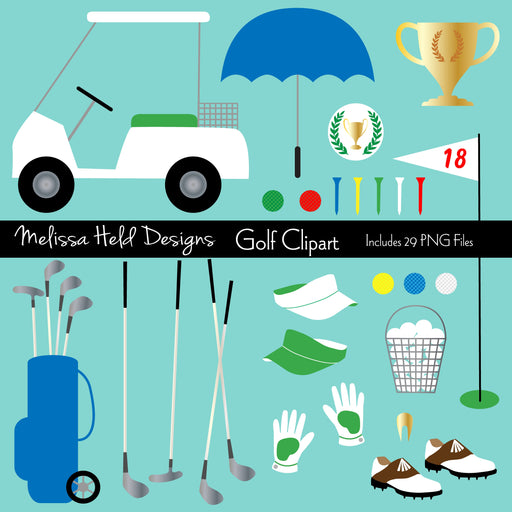 Golf Clipart Cliparts Melissa Held Designs    Mygrafico