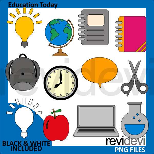 Education Today clipart  Revidevi    Mygrafico