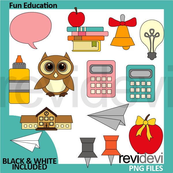 Fun Education clipart  Revidevi    Mygrafico