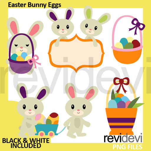 Easter Bunny Eggs Clipart Cliparts Revidevi    Mygrafico